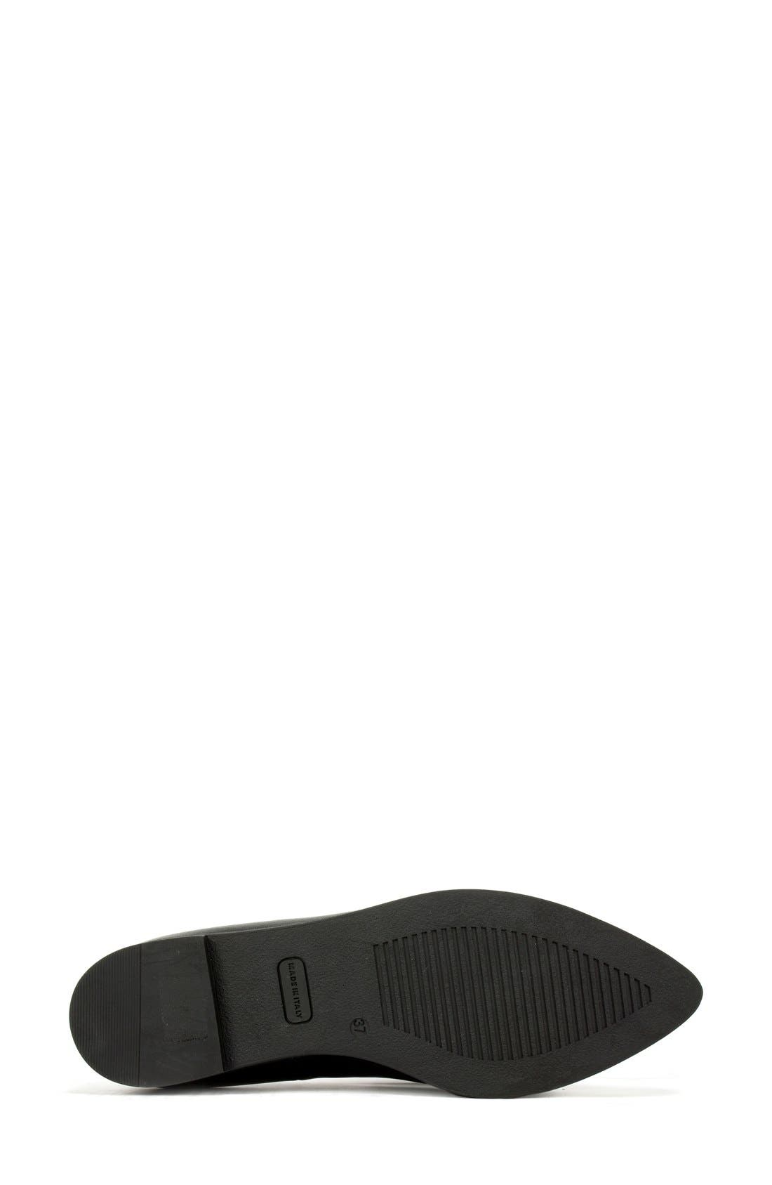 Alternate Image 4  - Summit 'Elena' Fringed Platform Loafer (Women)