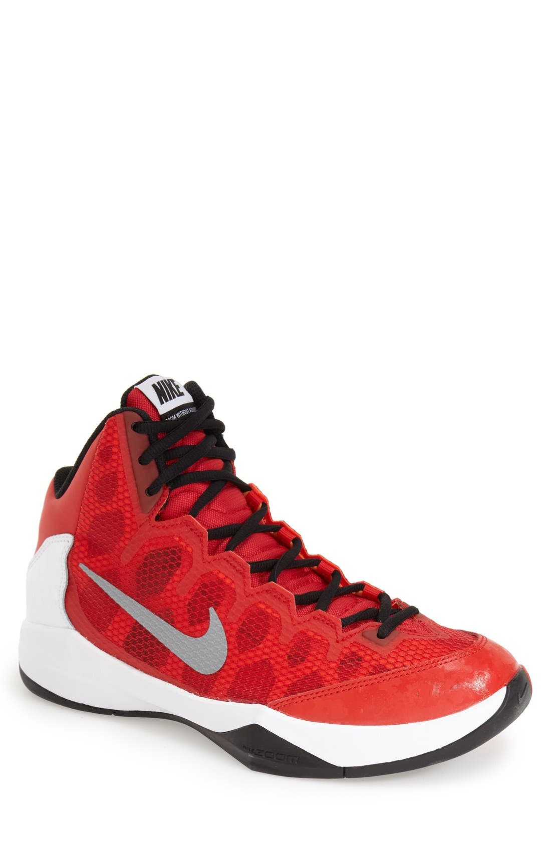Main Image - Nike 'Zoom - Without a Doubt' Basketball Shoe (Men)