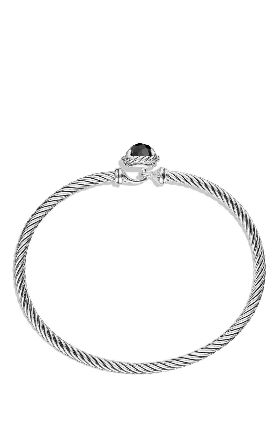 'Color Classics' Bangle Bracelet,                             Alternate thumbnail 2, color,                             Black Onyx