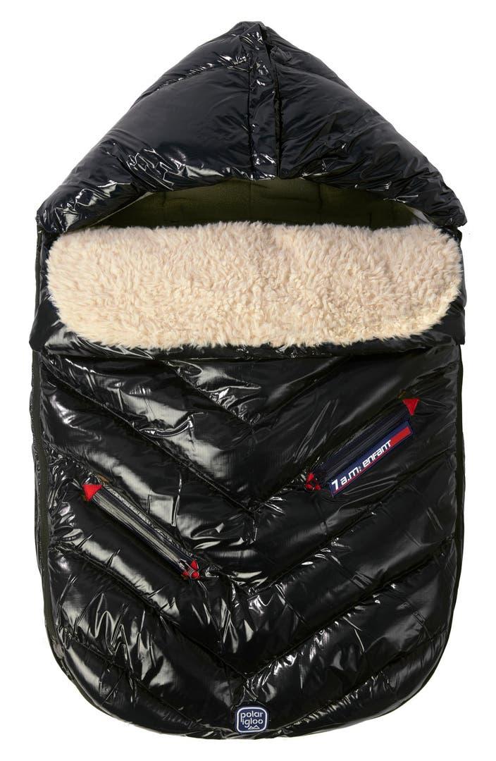 7 a m enfant 39 polar igloo 39 water repellent stroller car seat bunting nordstrom. Black Bedroom Furniture Sets. Home Design Ideas