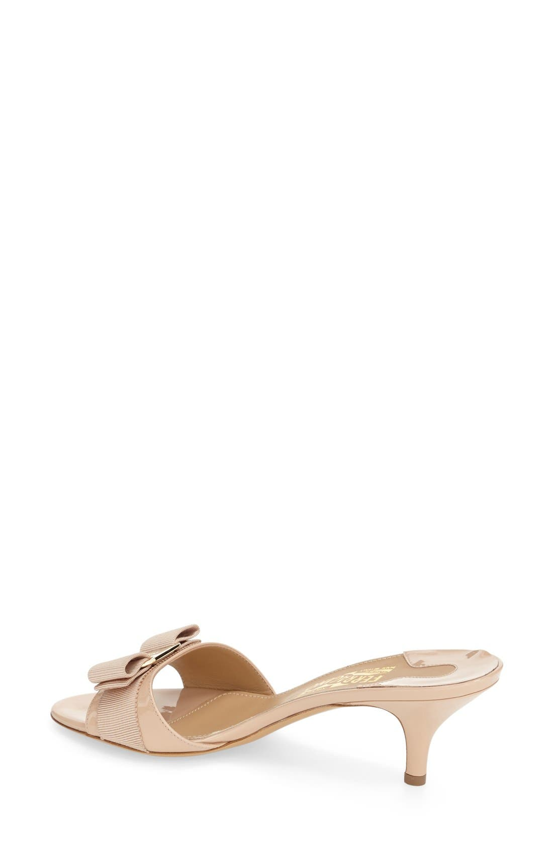 Alternate Image 2  - Salvatore Ferragamo 'Glory' Bow Trim Sandal