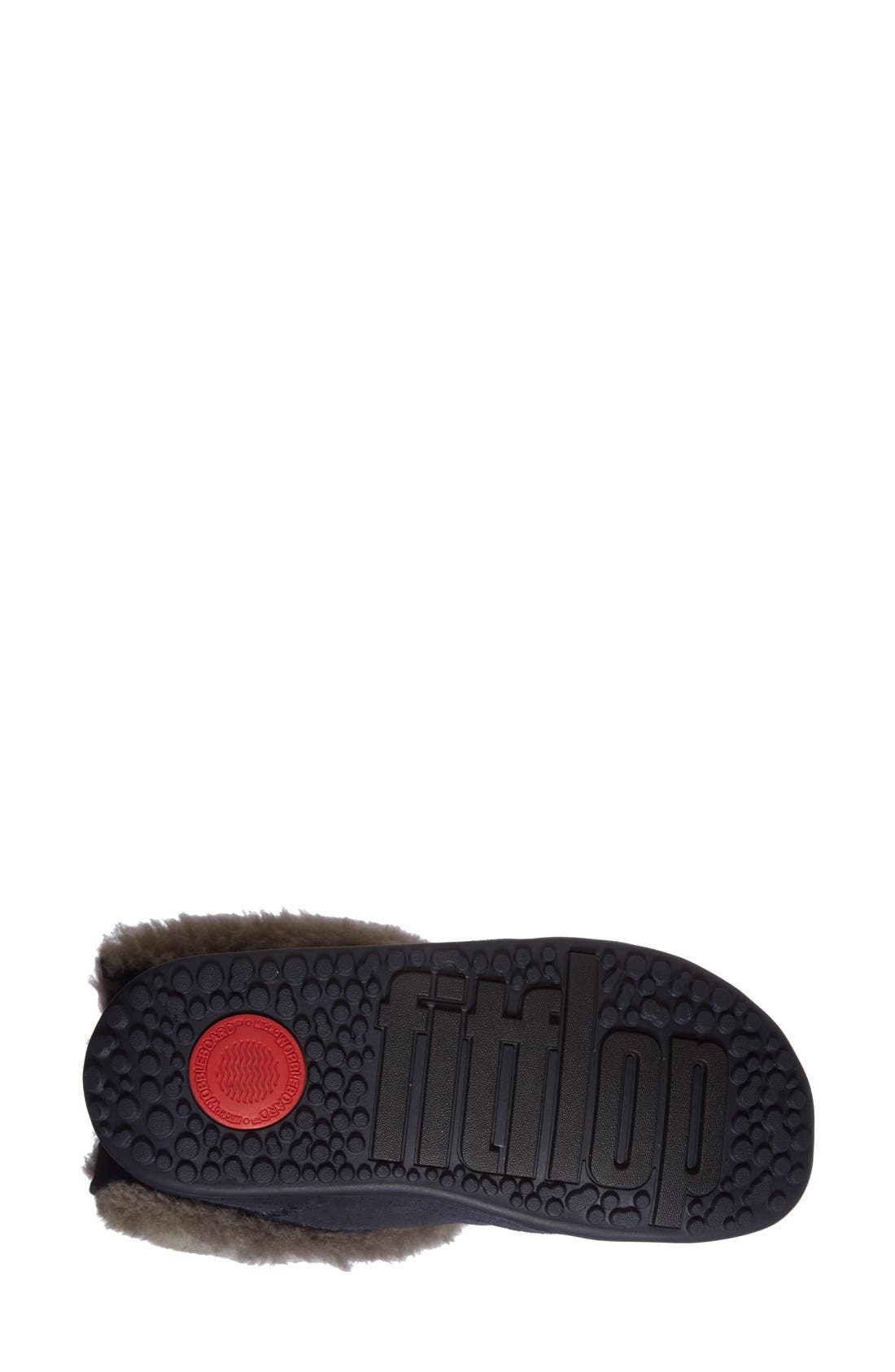 Alternate Image 4  - FitFlop™'Shorty' Shearling Lined Boot (Women)
