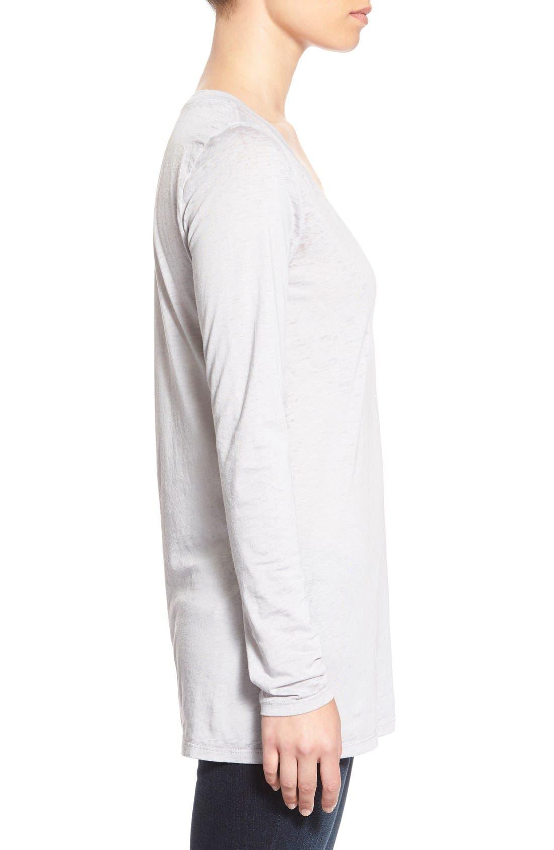 Alternate Image 3  - Stem Lightweight Long Sleeve V-Neck Tee