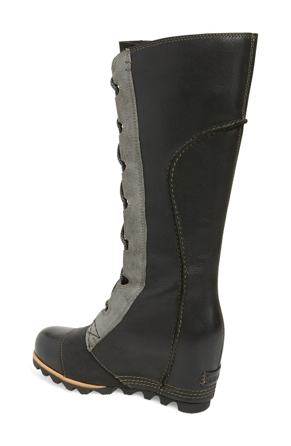 Alternate Image 2  - SOREL 'Cate the Great' Waterproof Wedge Boot (Women)