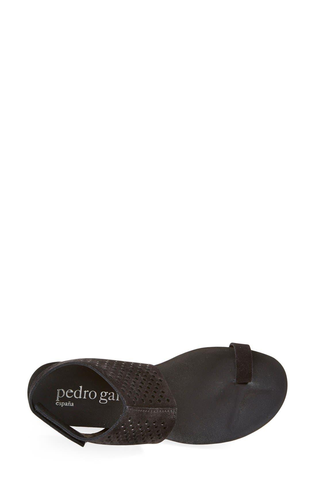 Alternate Image 3  - Pedro Garcia Perforated Ankle Cuff Sandal (Women)