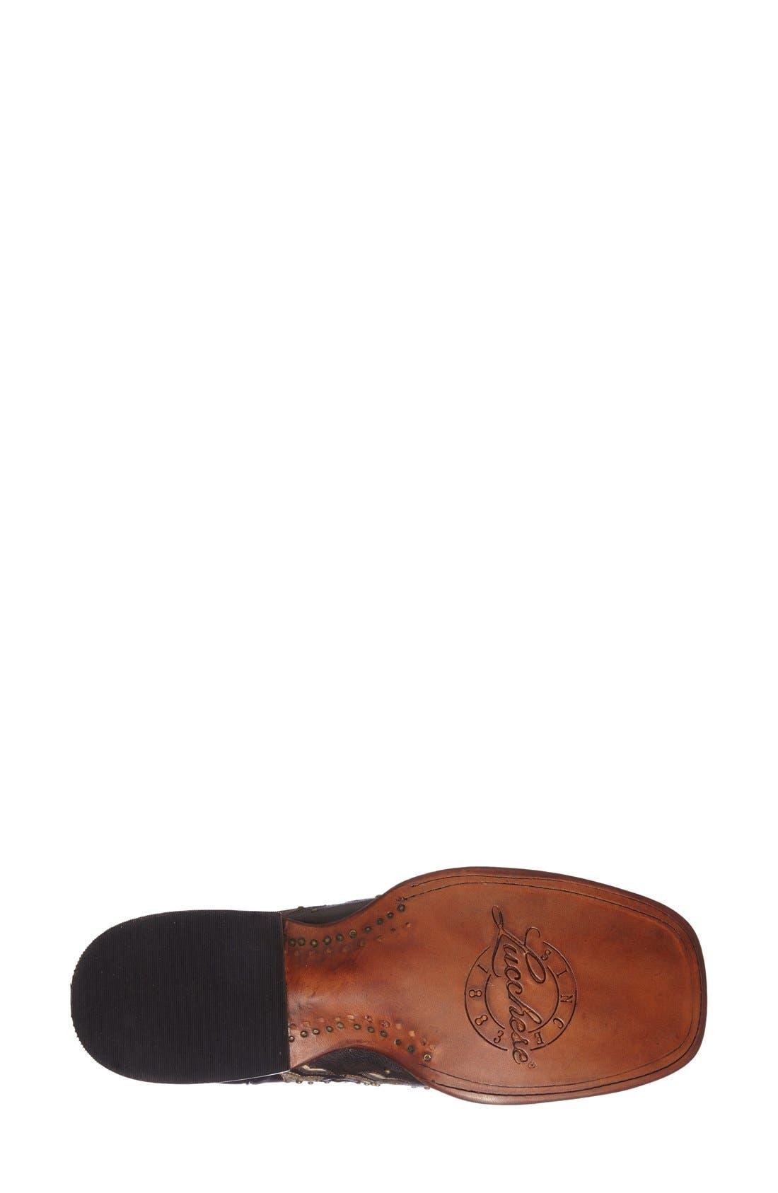 Alternate Image 4  - LuccheseStudded Western Boot (Women)
