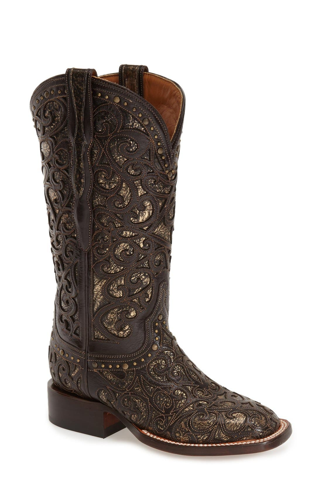 Alternate Image 1 Selected - LuccheseWestern Boot (Women)