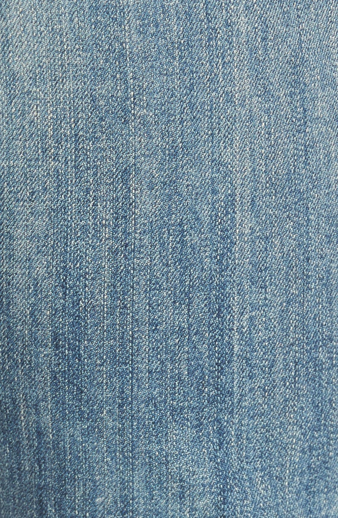 'Sasha' DestroyedFlare Jeans,                             Alternate thumbnail 5, color,                             Freemont
