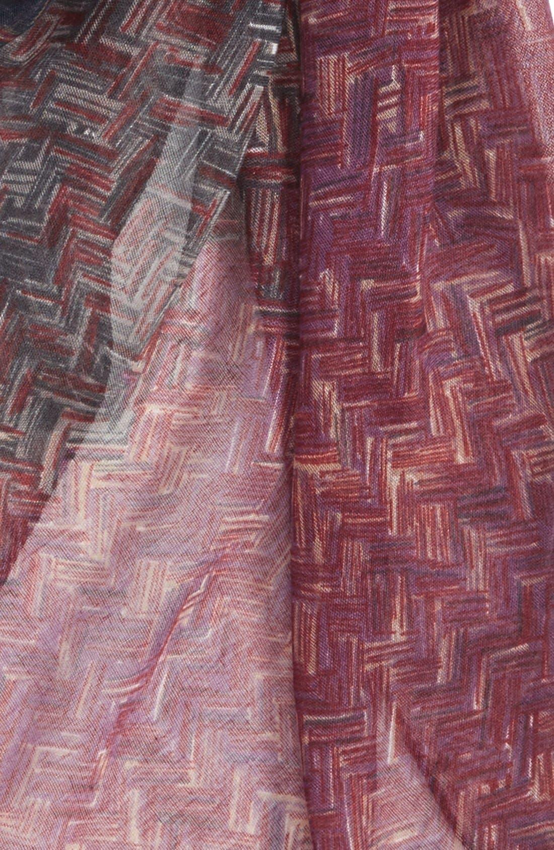 Alternate Image 3  - TashaOmbré Woven PrintScarf