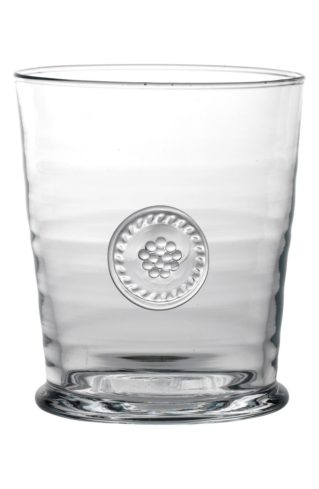 'Berry and Thread' Double Old Fashioned Glass,                             Alternate thumbnail 3, color,                             Clear