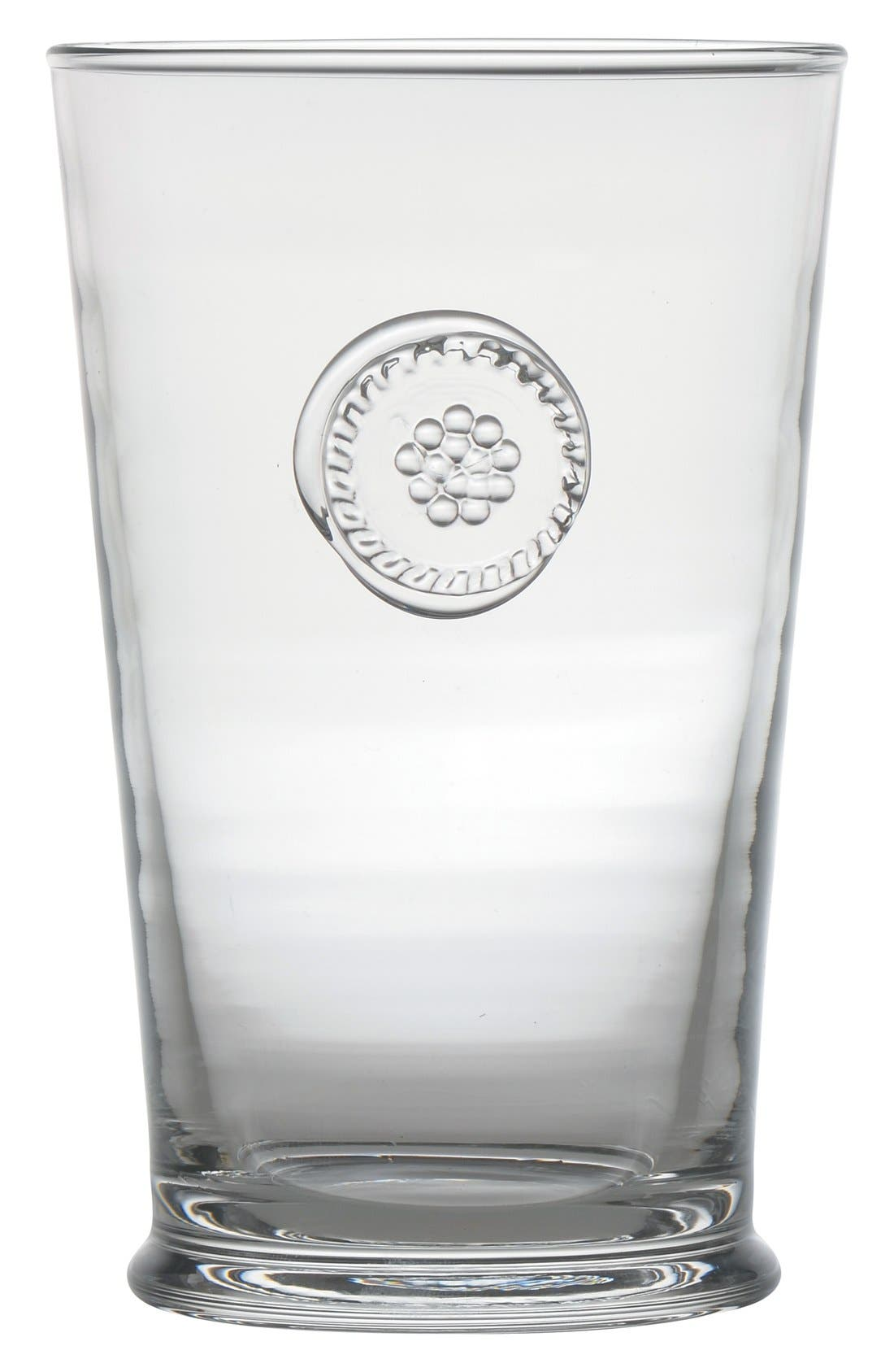 'Berry and Thread' Highball Glass,                         Main,                         color, Clear