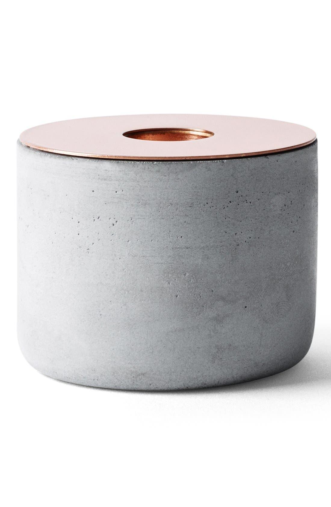 Alternate Image 1 Selected - MENU 'Chunk of Concrete' Candlestick Holder