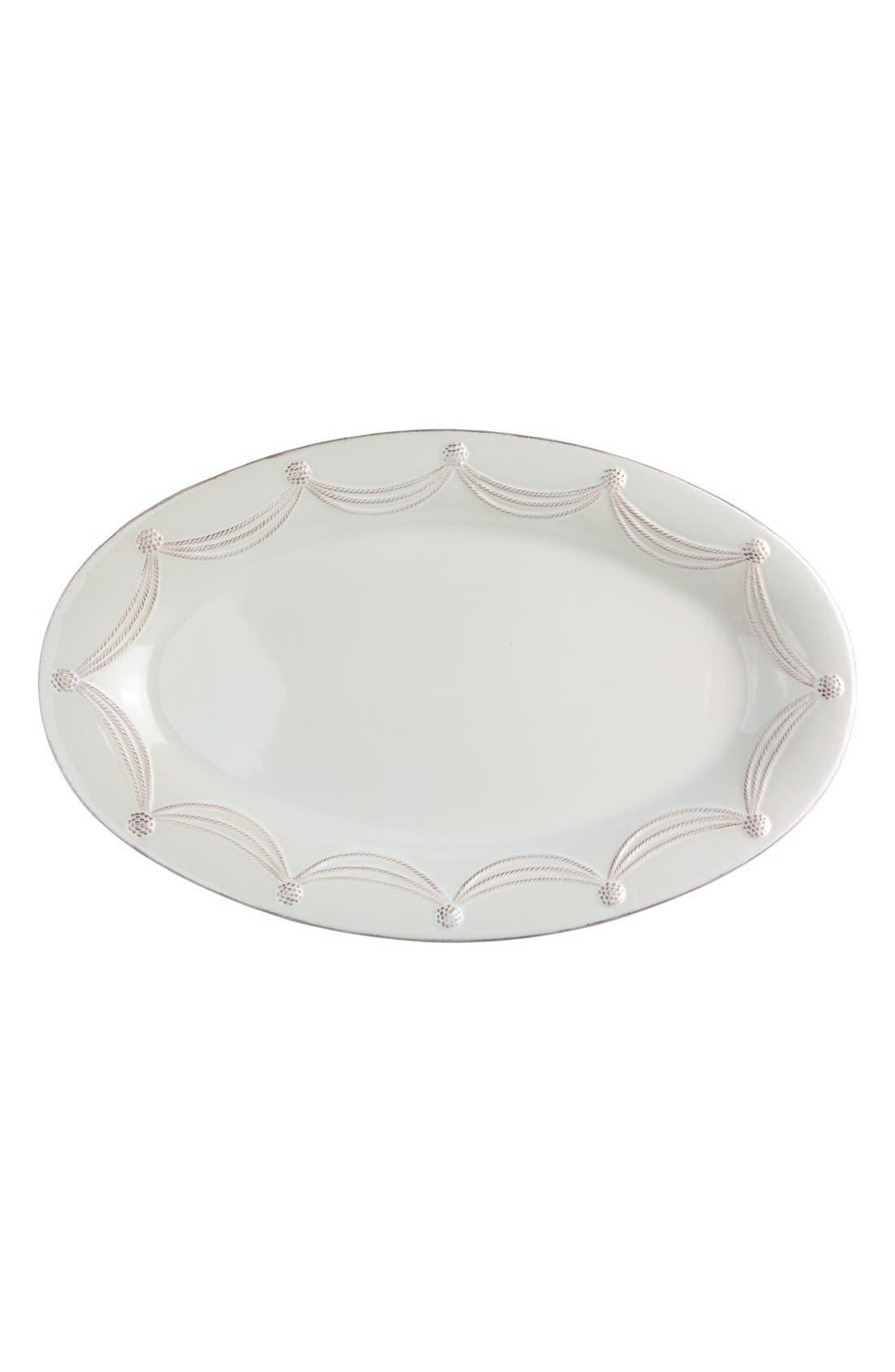 Alternate Image 1 Selected - Juliska 'Berry and Thread' Oval Platter