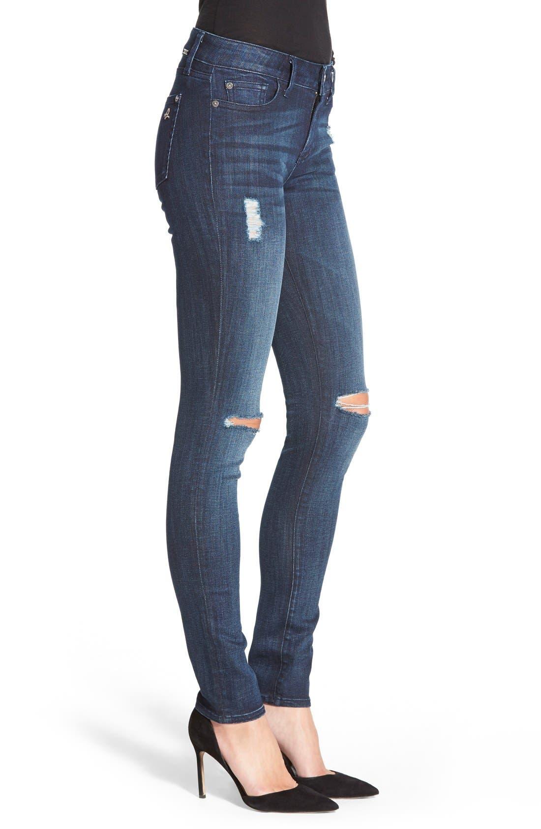 Alternate Image 3  - DL1961 'Florence' InstasculptSkinny Jeans (Vortex)