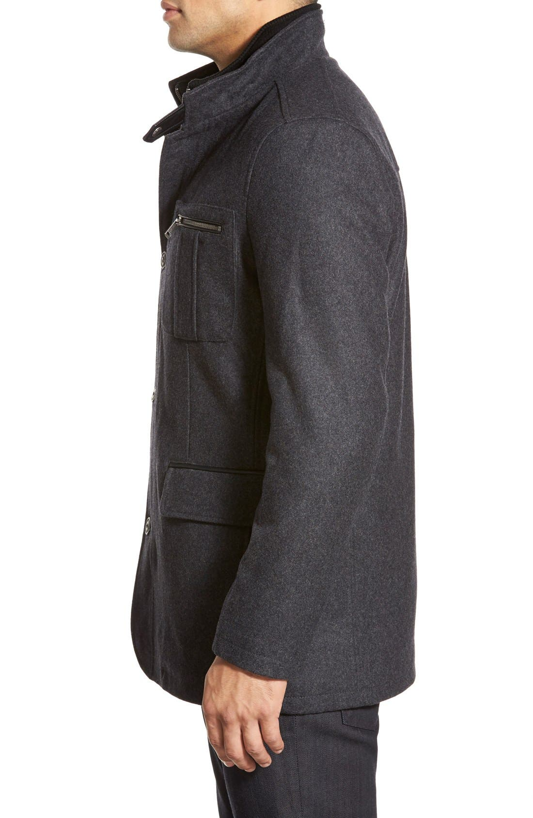 Alternate Image 3  - Cole Haan Wool Blend Jacket