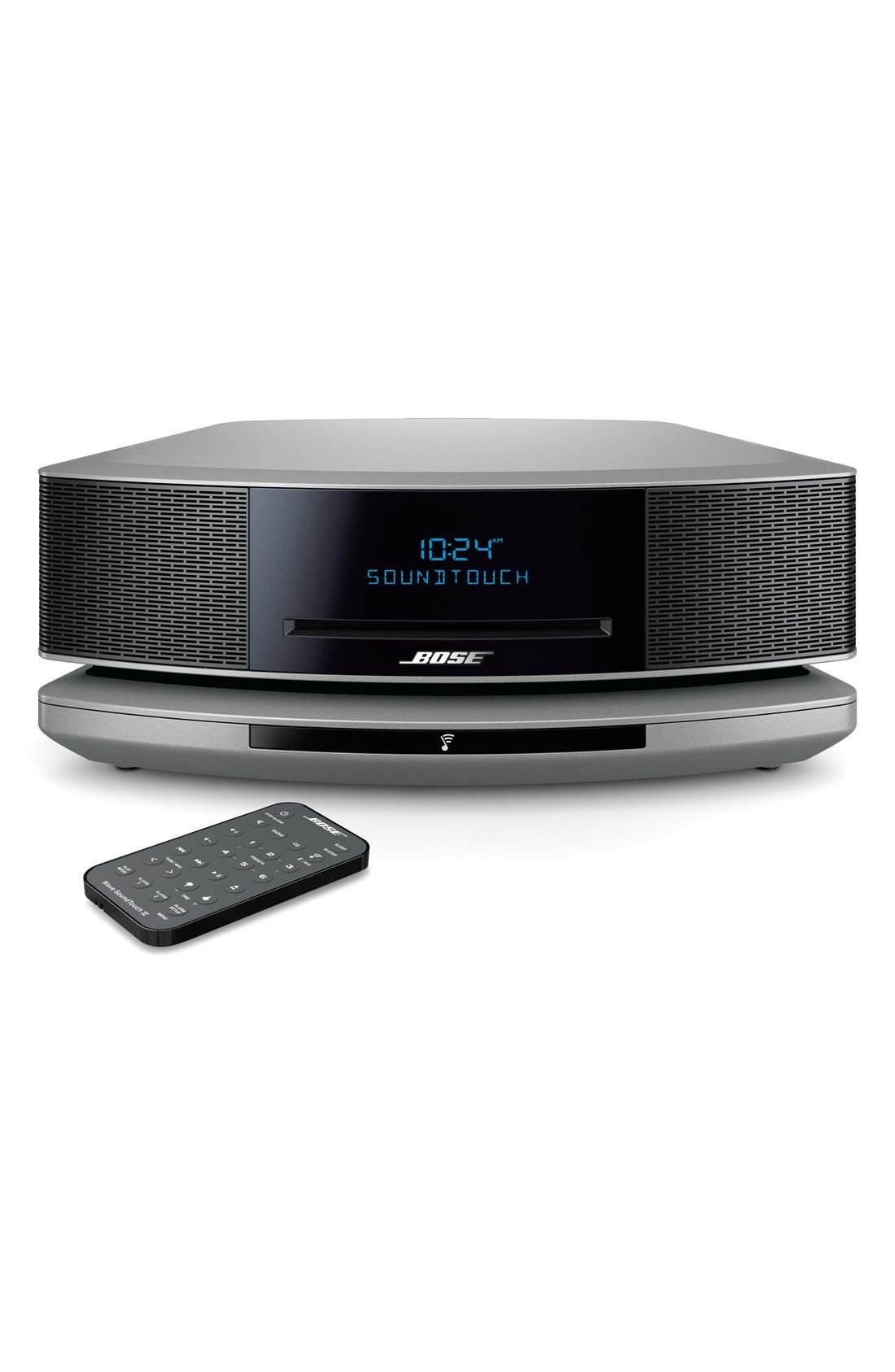 Wave<sup>®</sup> SoundTouch<sup>®</sup> IV Wi-Fi<sup>®</sup> Music System,                         Main,                         color, Silver