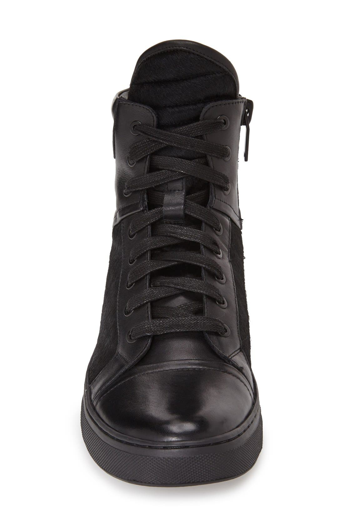 Alternate Image 3  - Kenneth Cole New York 'Double Over' ZipHigh Top Sneaker (Men)