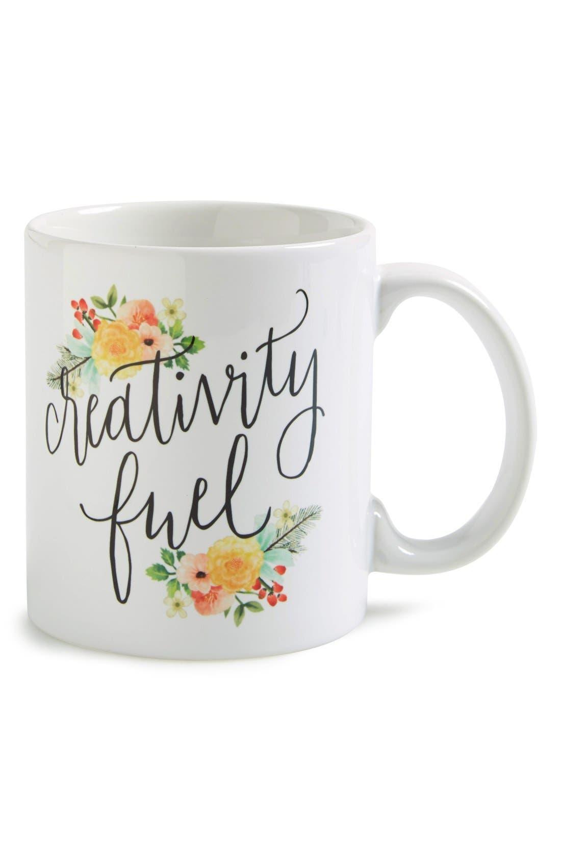 Alternate Image 1 Selected - Printable Wisdom 'Creativity Fuel' Mug