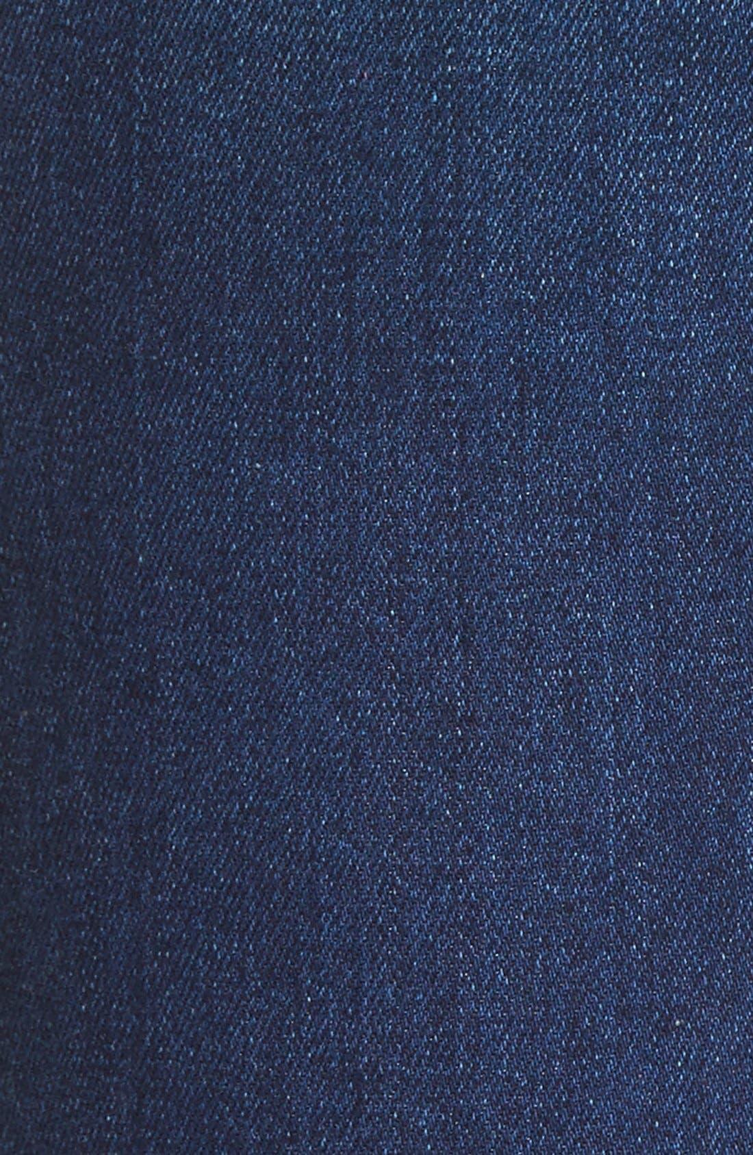 Alternate Image 5  - 7 For All Mankind® Destroyed Ankle Skinny Jeans (Stunning Seville 2)