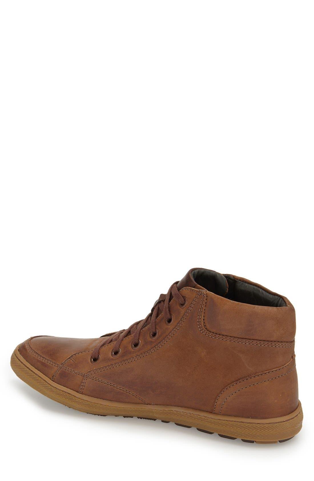 Santos Sneaker,                             Alternate thumbnail 2, color,                             Brown