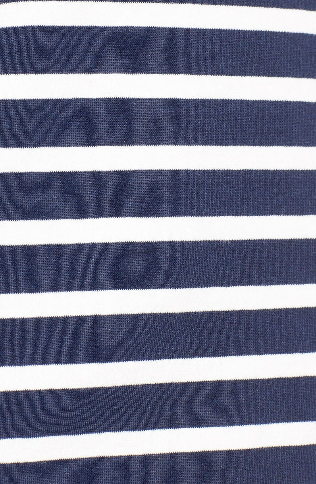 Alternate Image 5  - Vineyard Vines Stripe Long Sleeve Knit Tee