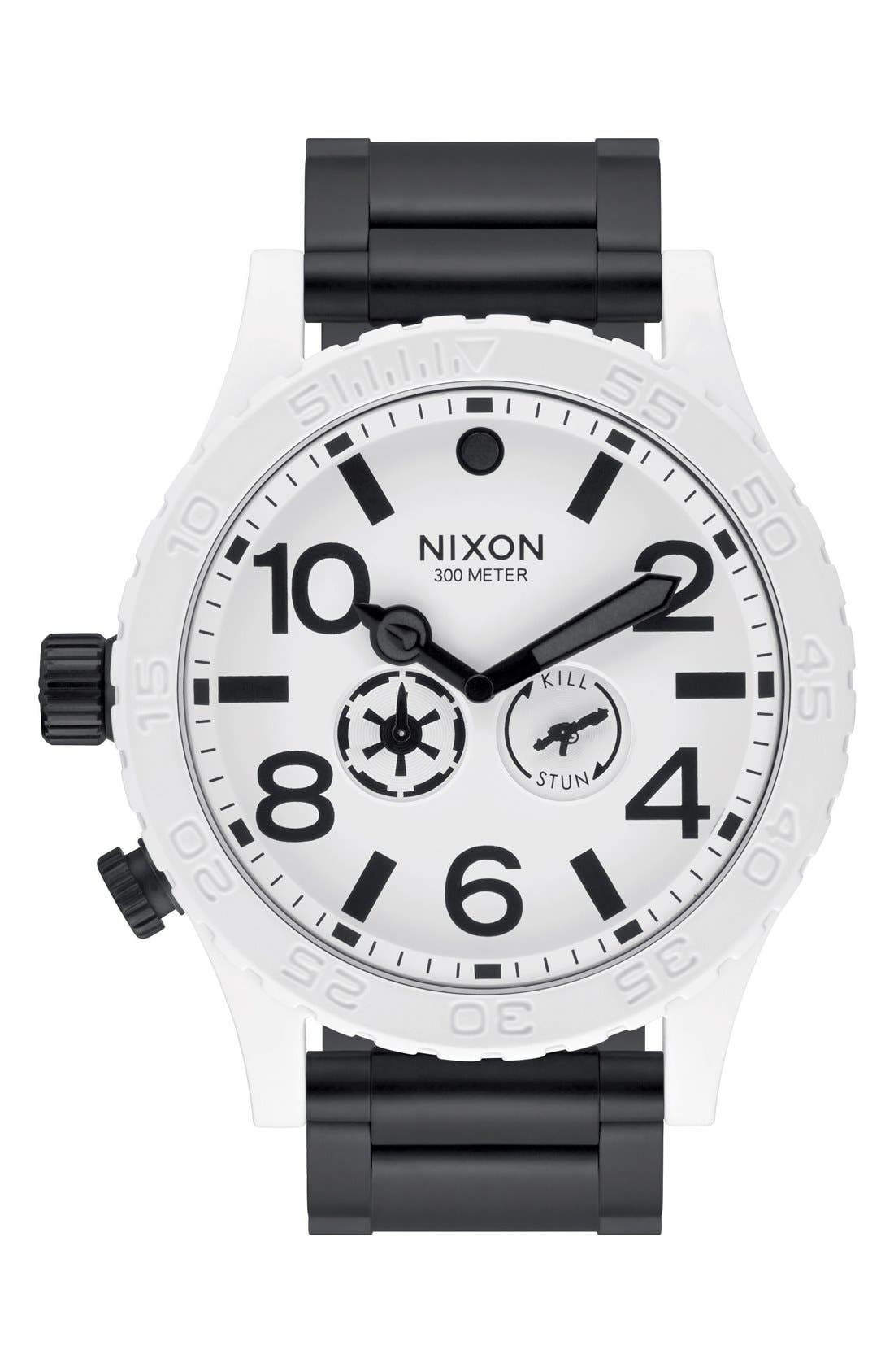 Alternate Image 1 Selected - Nixon 'Star Wars™ - The 51-30 Stormtrooper' Bracelet Watch, 51mm