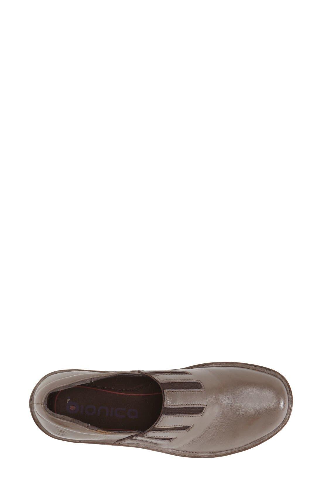 'Coast' Clog,                             Alternate thumbnail 3, color,                             Taupe Grey Leather