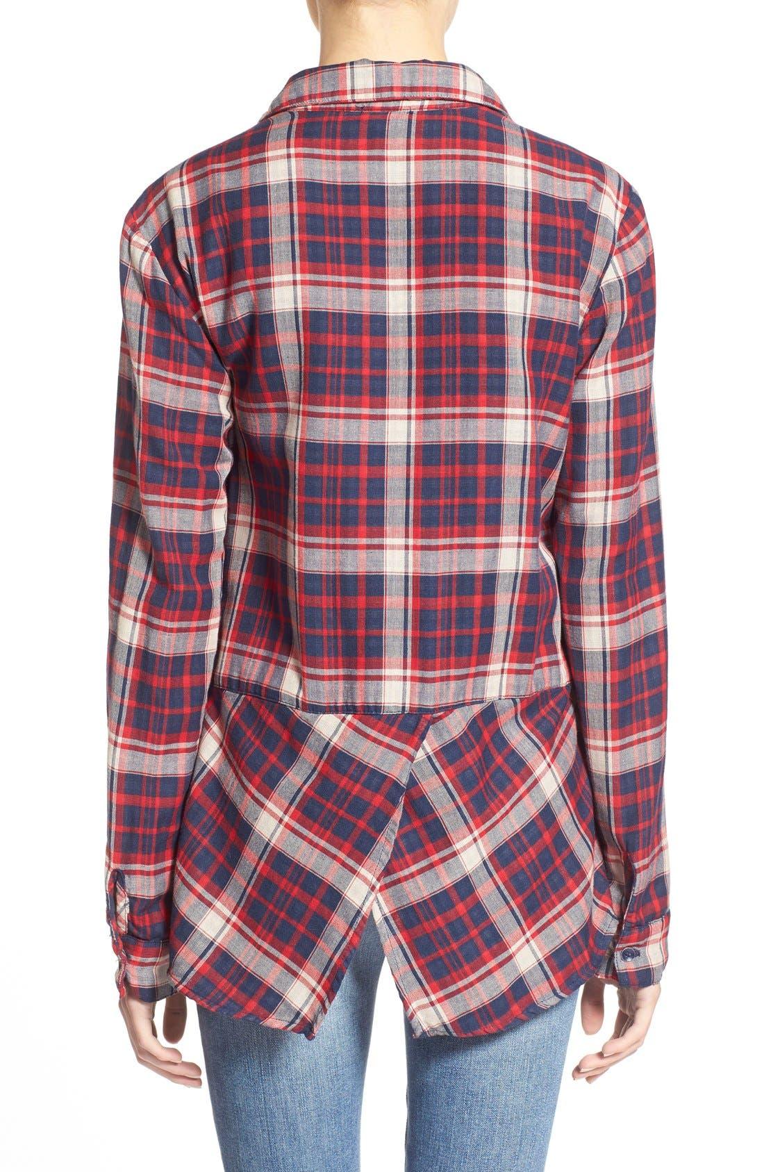 Alternate Image 2  - Splendid'Hunter' Plaid Shirt