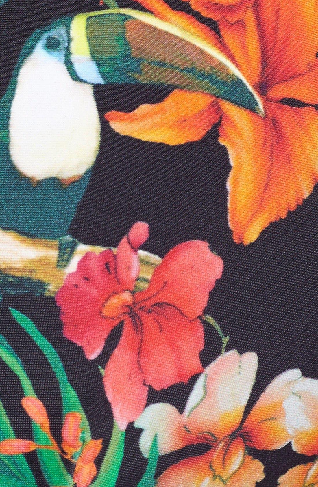 Alternate Image 4  - Ted Baker London 'Tropical Toucan' Reversible Side Tie Bikini Bottoms