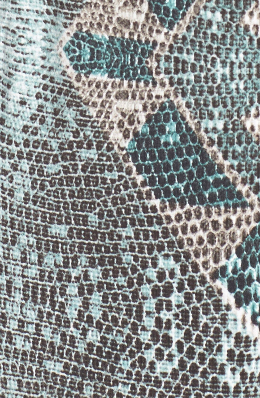 Alternate Image 5  - Tart 'Jewell' Pleat Neck Print Top (Plus Size)