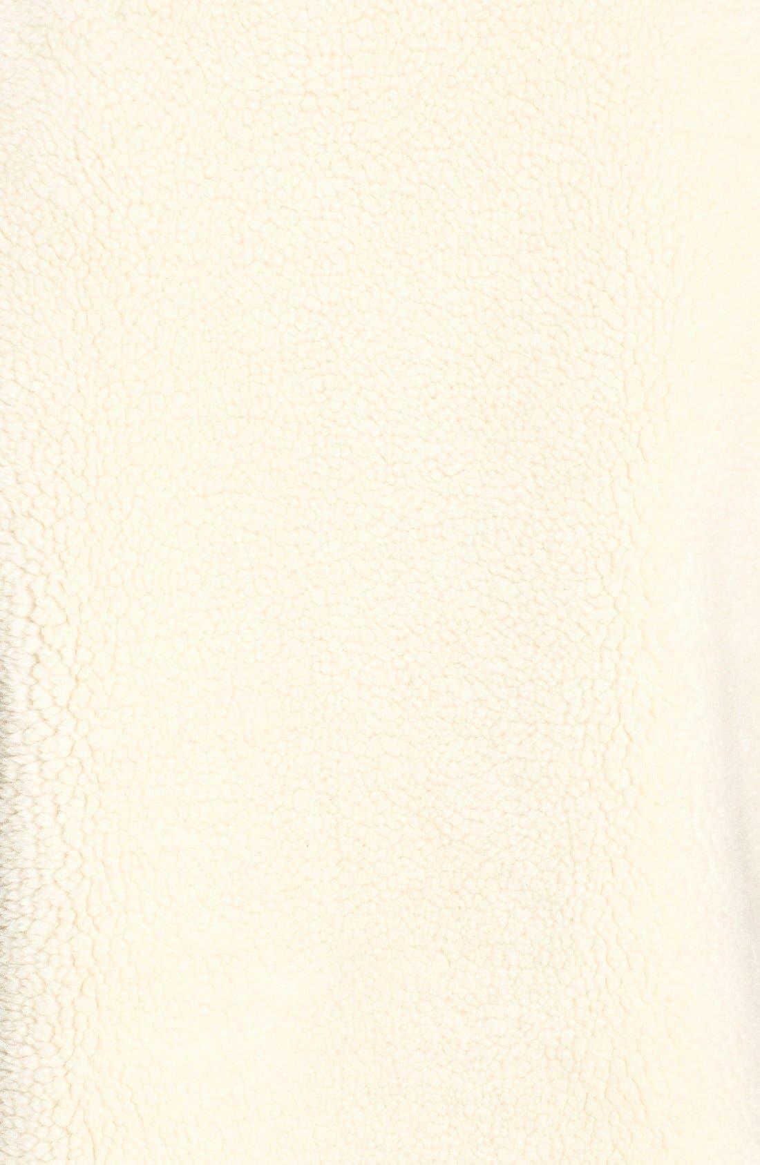 Alternate Image 6  - Velvet by Graham & Spencer Reversible Faux Shearling Vest