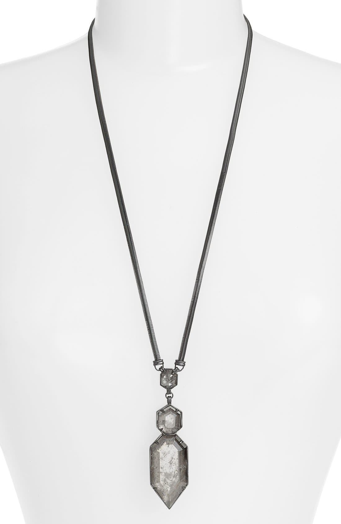 Alternate Image 1 Selected - Kendra Scott 'Wyatt' Pendant Necklace