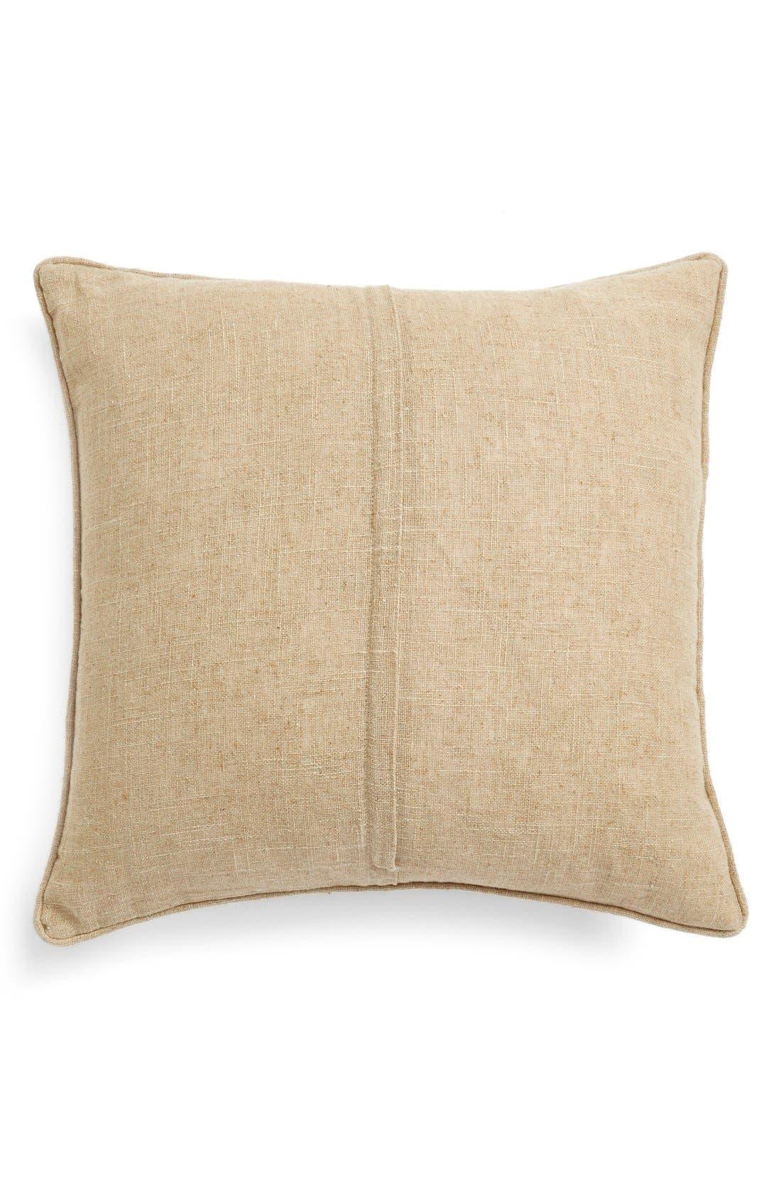Alternate Image 2  - LevtexGold Medallion Print Pillow