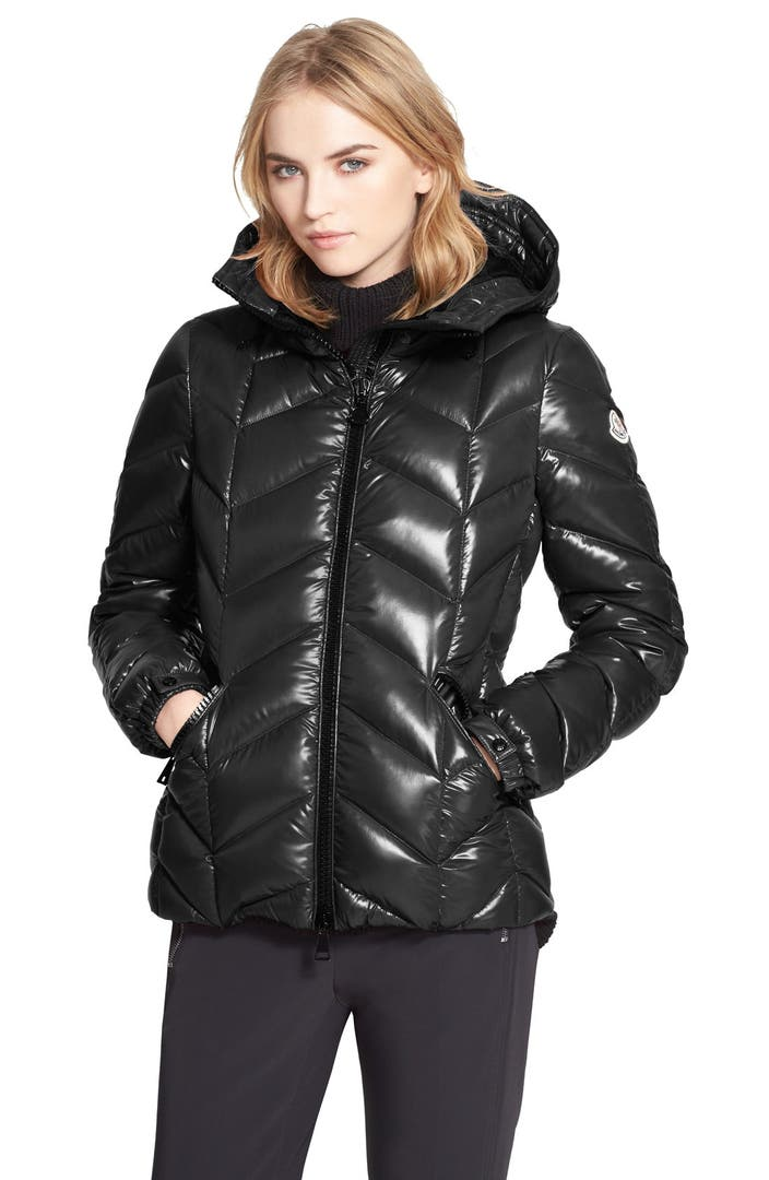 moncler 39 badete 39 hooded down puffer coat nordstrom. Black Bedroom Furniture Sets. Home Design Ideas