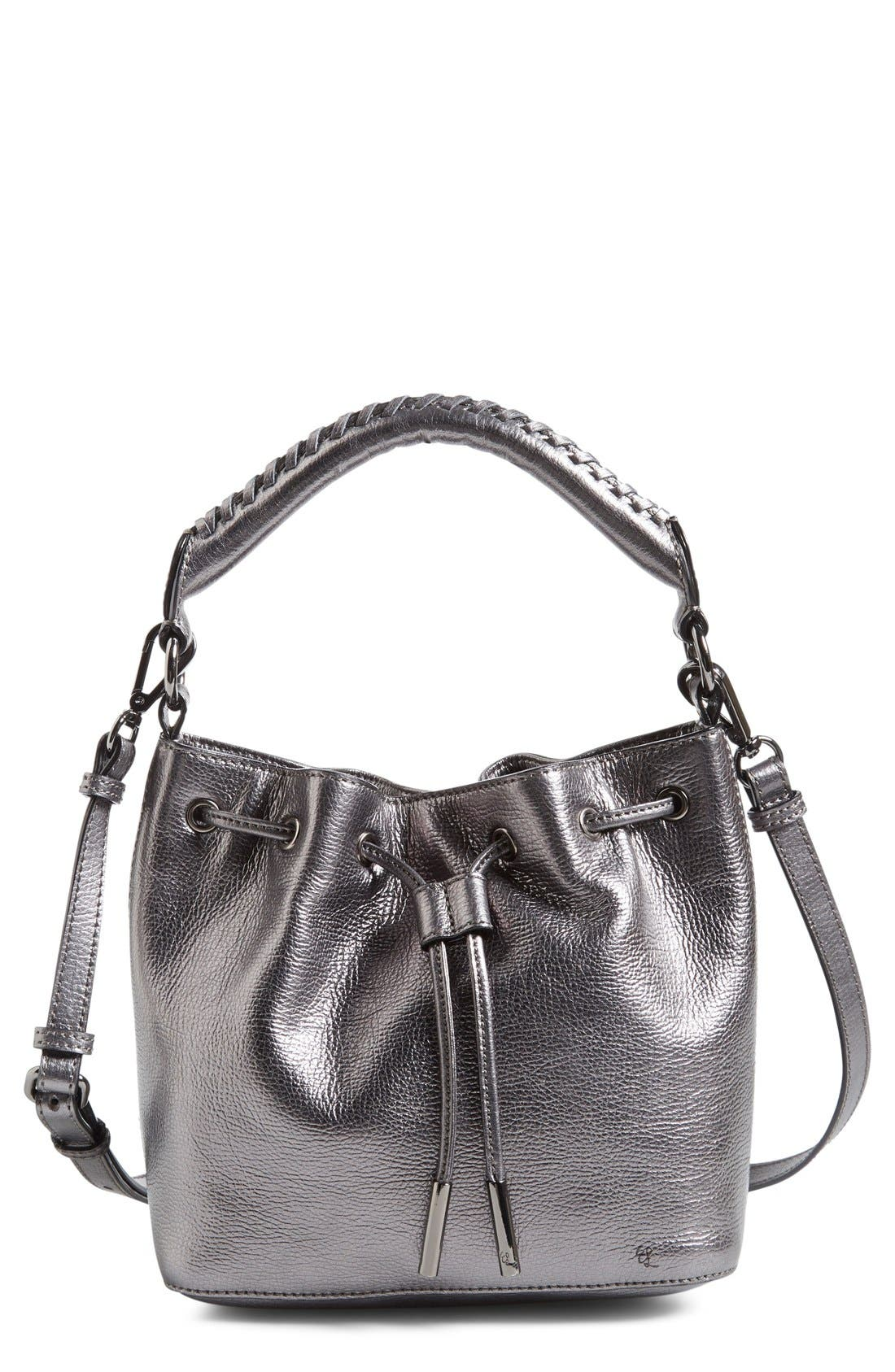 Alternate Image 1 Selected - Elliott Lucca 'Gigi Bon Bon' Leather Bucket Bag