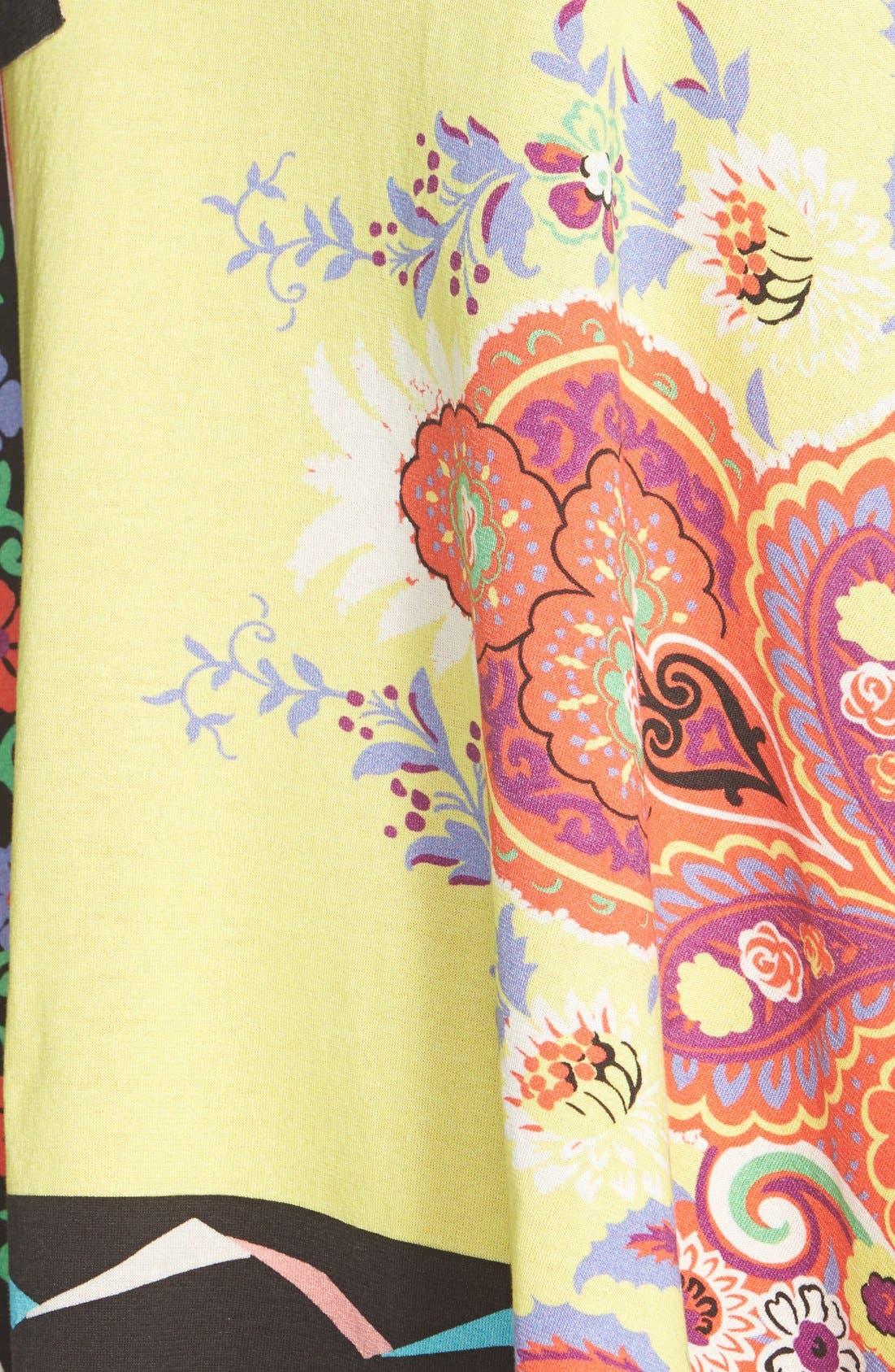 Alternate Image 3  - Etro Geo Print Cotton Poncho