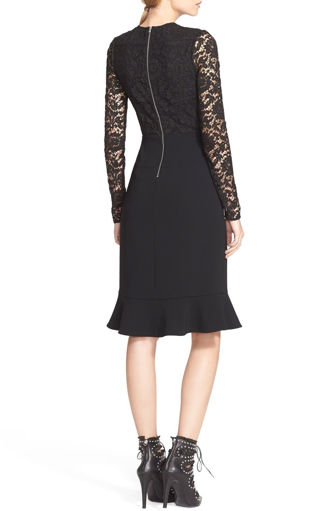 Alternate Image 2  - Altuzarra Lace Bodice Ruffle Dress