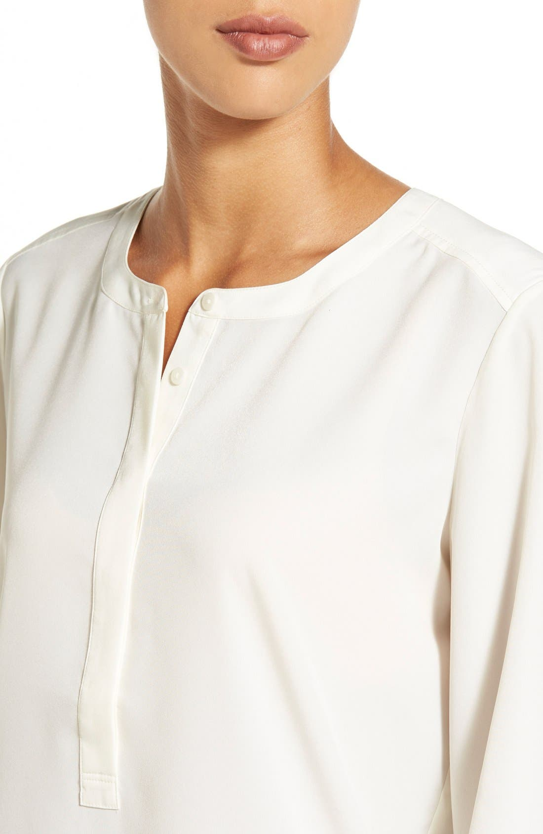 Alternate Image 4  - NYDJ Woven Tunic Top (Regular & Petite)
