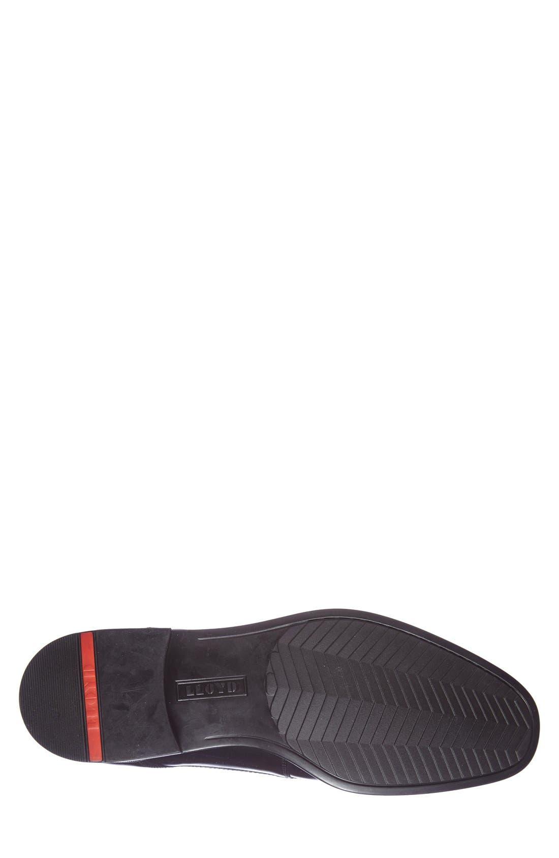 'Gildo' Plain Toe Derby,                             Alternate thumbnail 4, color,                             Black