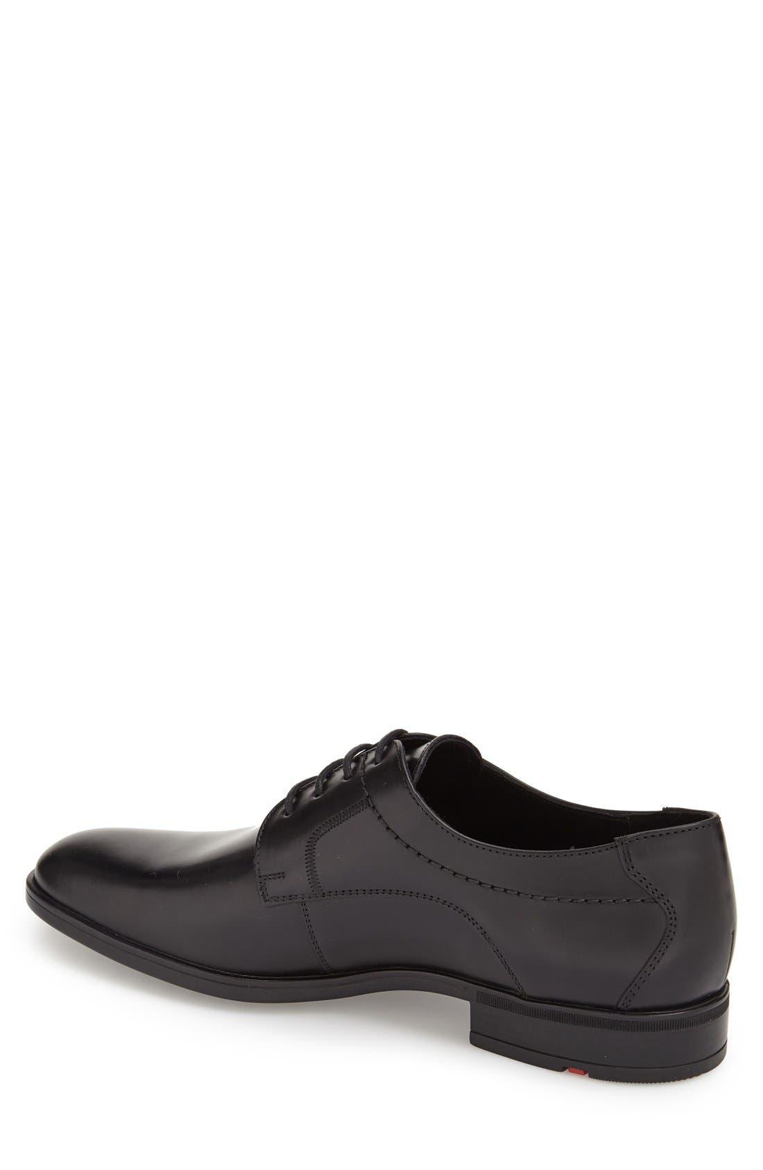 'Gildo' Plain Toe Derby,                             Alternate thumbnail 2, color,                             Black