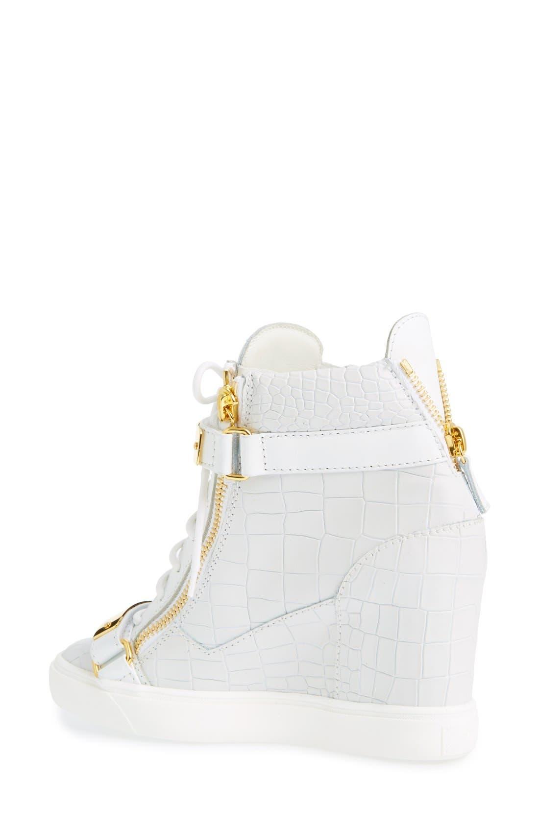 Alternate Image 2  - Giuseppe Zanotti'Lorenz' Wedge Sneaker (Women)