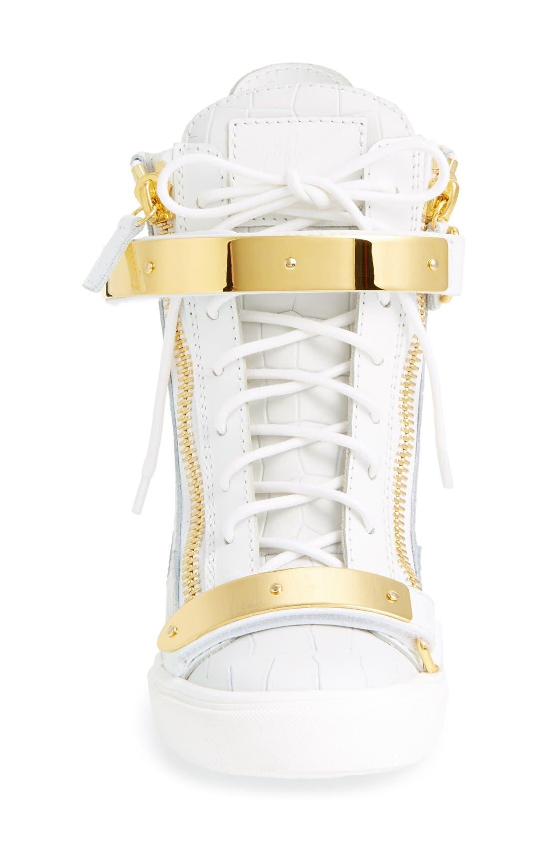 Alternate Image 3  - Giuseppe Zanotti'Lorenz' Wedge Sneaker (Women)