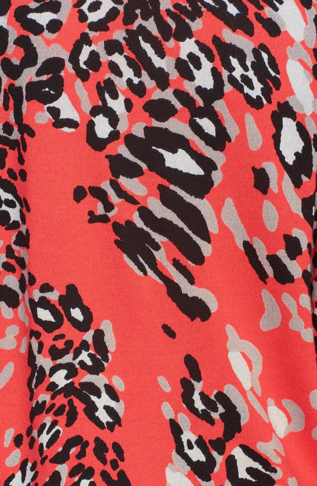 Alternate Image 3  - ESCADA Leopard Print Wool Blend Tunic