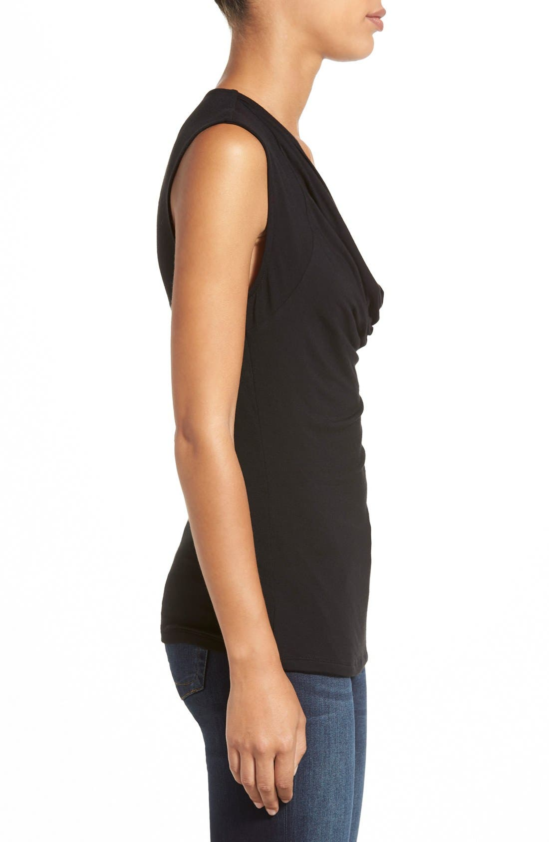 Alternate Image 3  - Halogen® Cowl Neck Sleeveless Top (Regular & Petite)