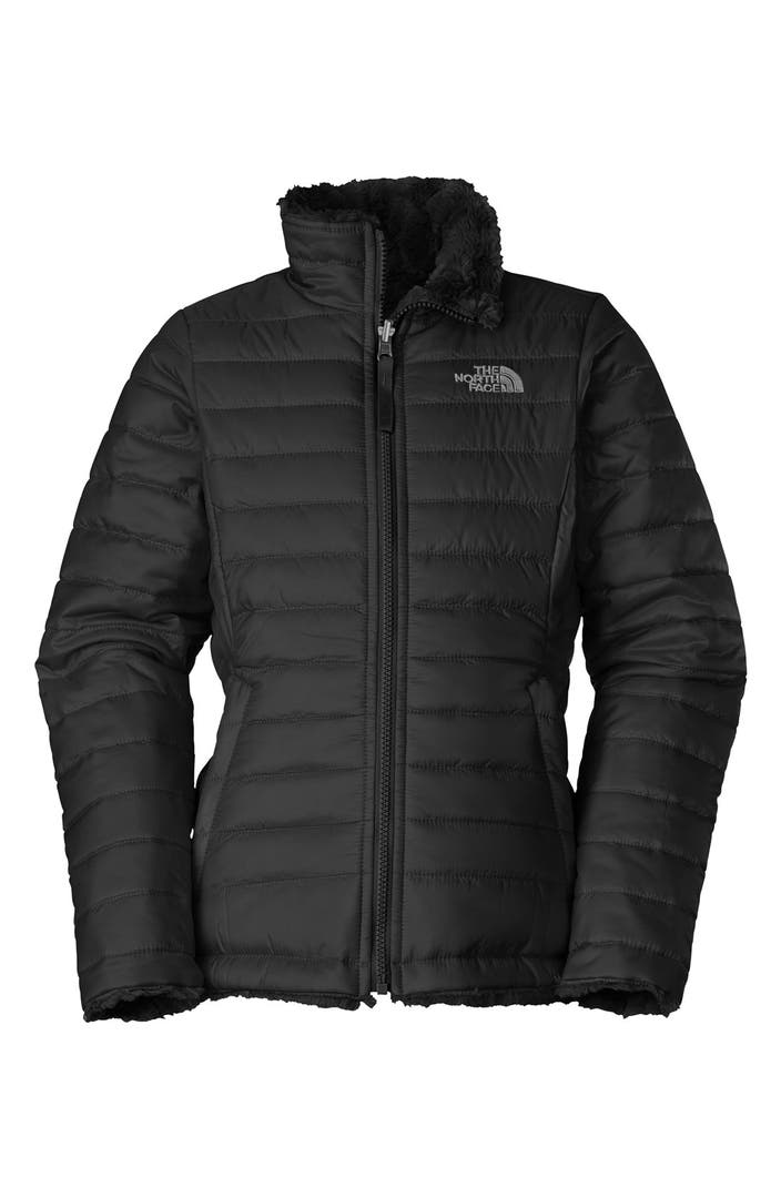 The North Face Mossbud Swirl Reversible Water Repellent -9775