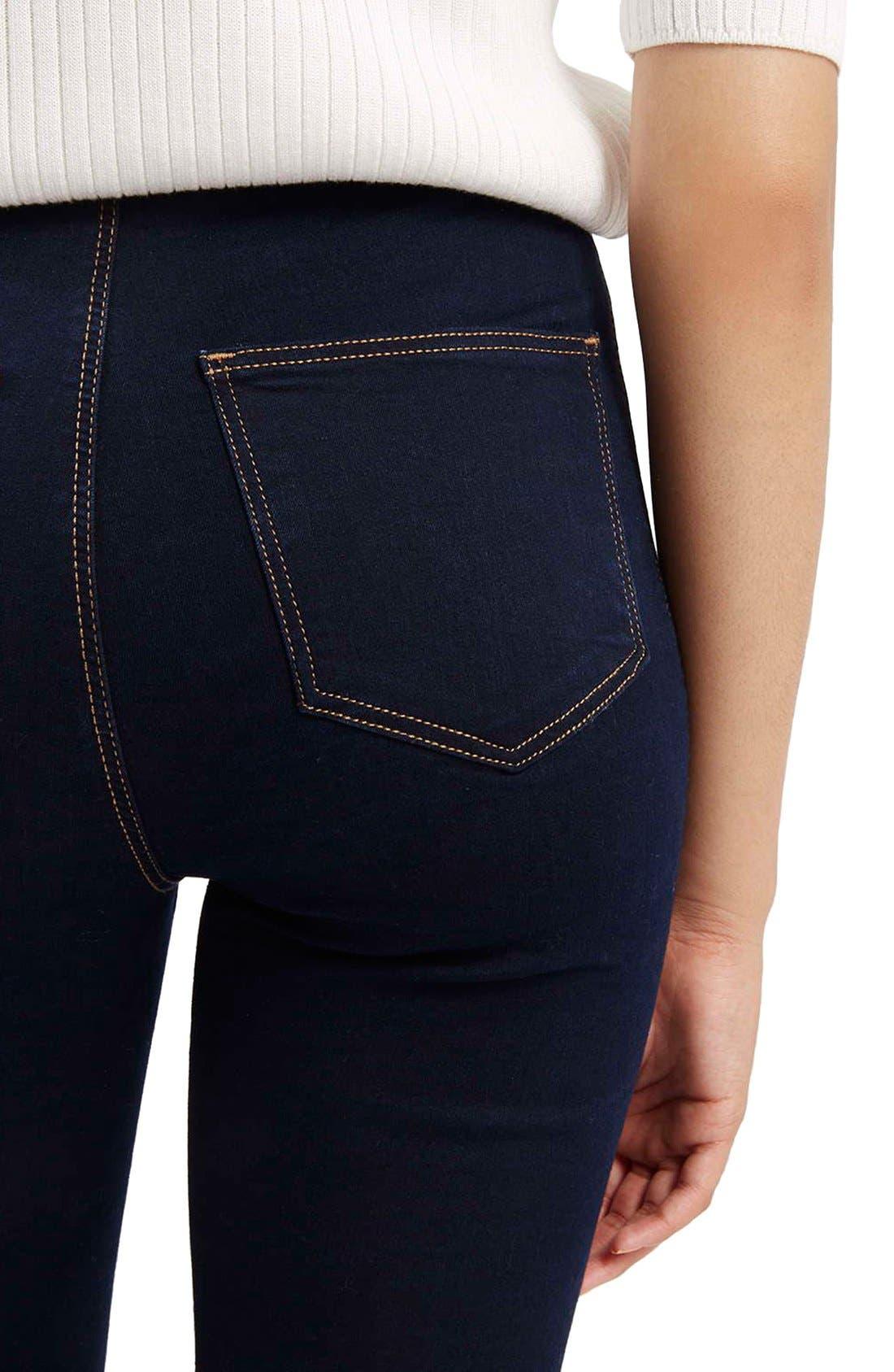 Alternate Image 5  - Topshop Moto 'Joni' Super Skinny Jeans (Mid Denim) (Tall)
