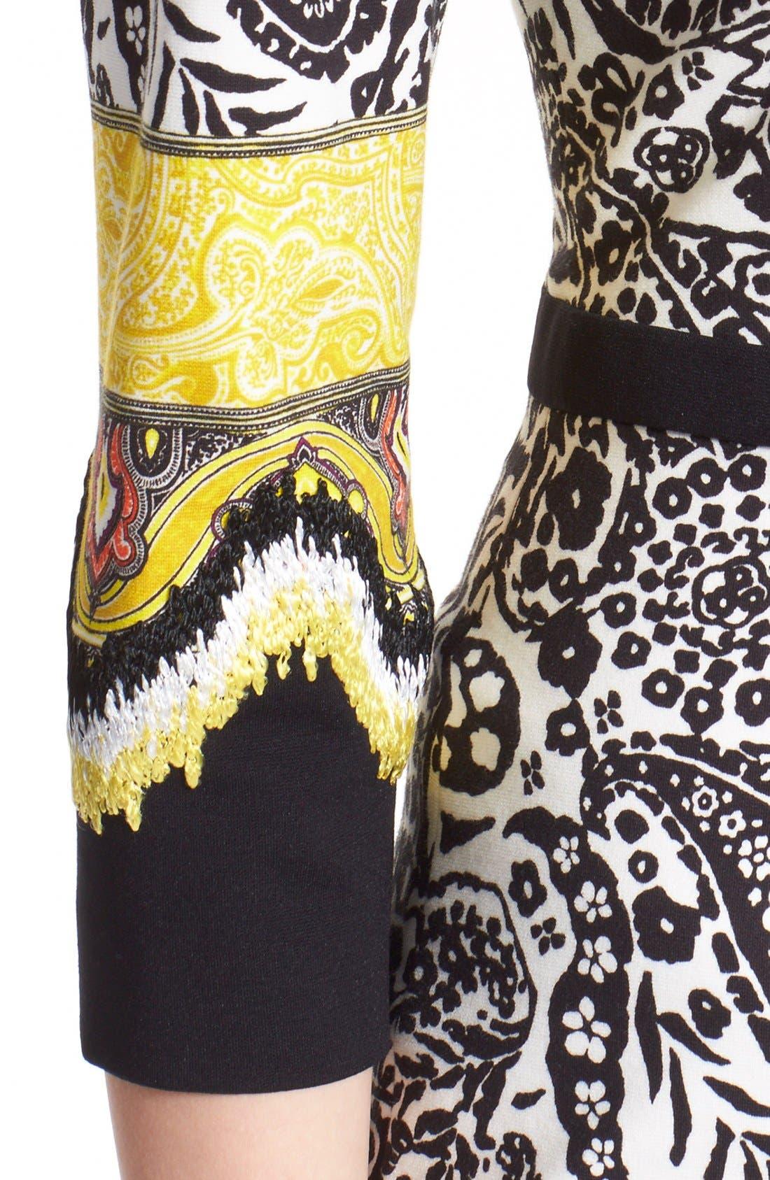 Alternate Image 6  - Etro Paisley Print Stretch Jersey Dress