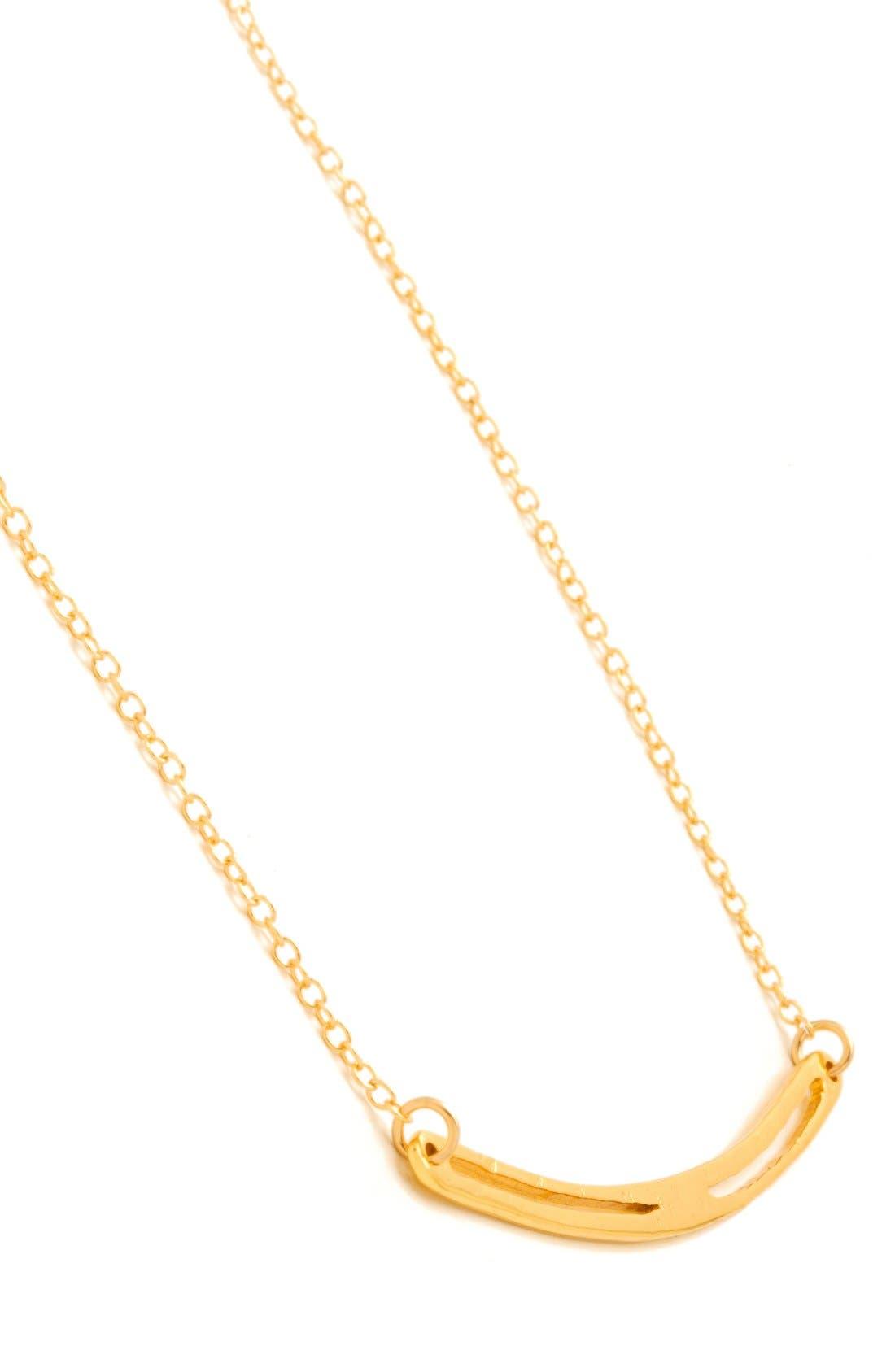 Alternate Image 3  - gorjana 'Taner' Split Bar Pendant Necklace