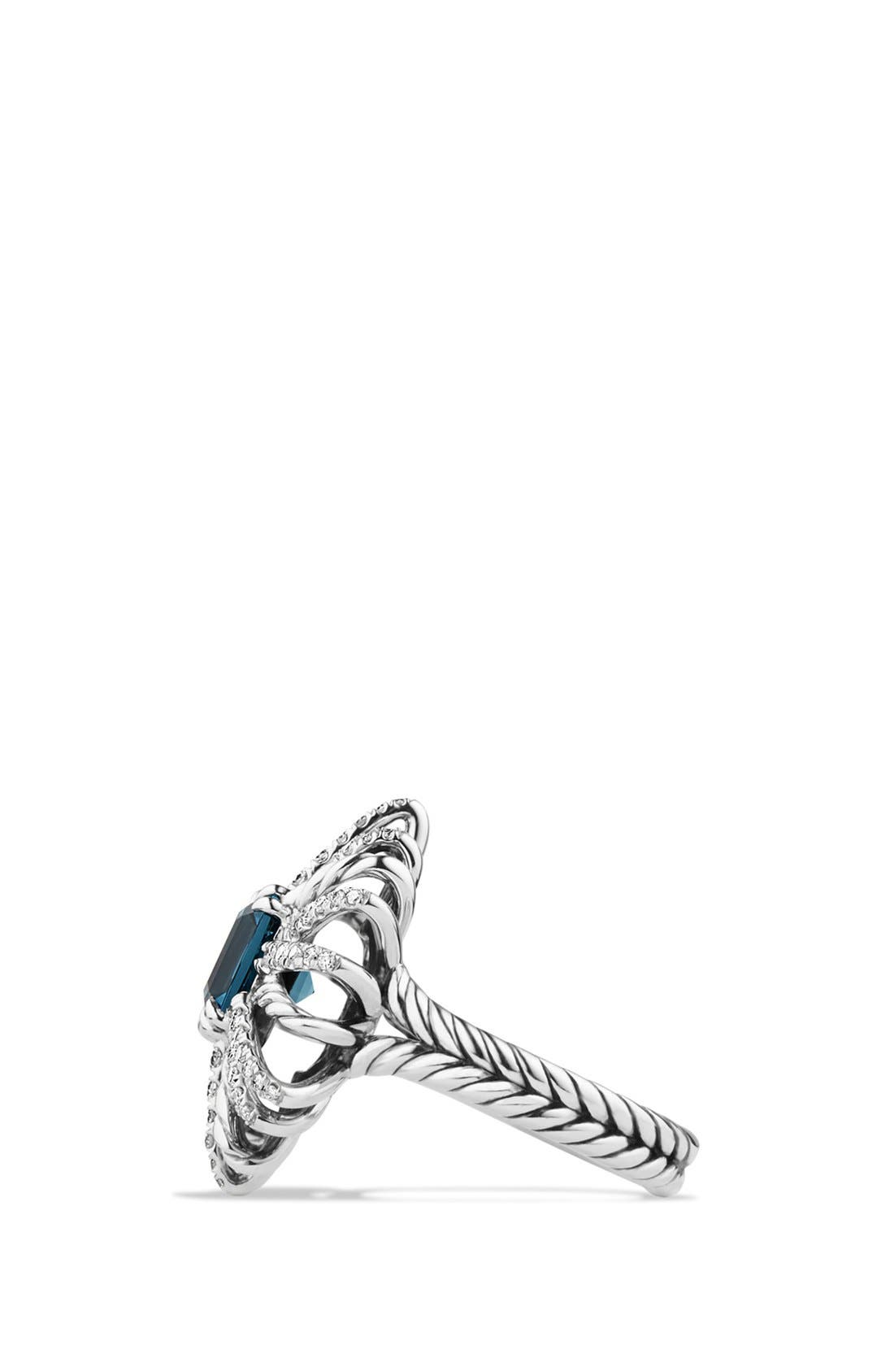 Alternate Image 2  - David Yurman 'Starburst' Ring with Diamonds in Silver