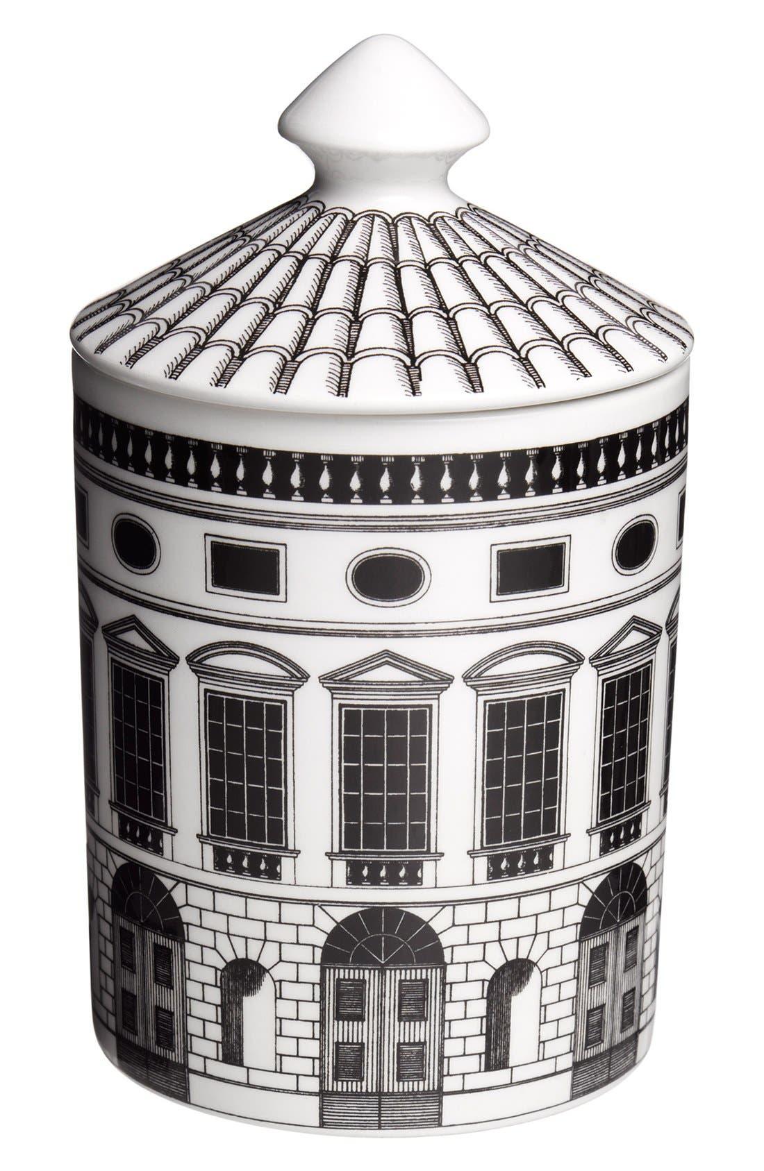 Fornasetti 'Architettura - Otto' Lidded Candle